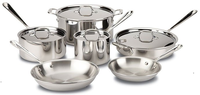 11 Best Stainless Steel Cookware Sets Made In Usa May 2019