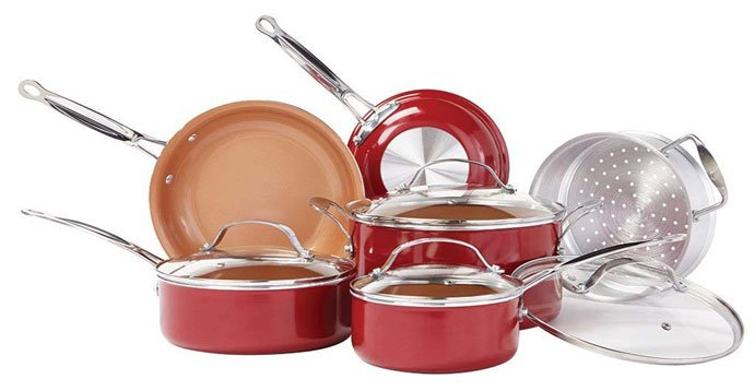 BulbHead (10824) Red Copper Cookware Reviews