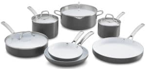 Cook N Home NC-00359 Nonstick Ceramic Coating 10-Piece Cookware Set