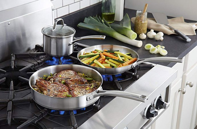calphalon classic nonstick cookware set