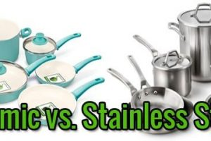 Ceramic vs. Stainless Steel Cookware