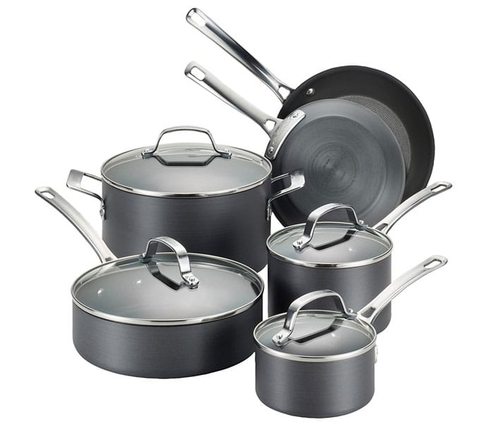 10 Best Hard Anodized Cookware Sets Review (May - 2019)