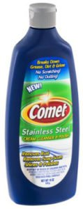 Comet Stainless Cream Cleanser & Polish