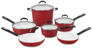 Cuisinart 59-10R Elements 10-Piece Cookware Set