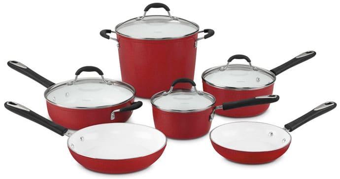 Cuisinart 59-10R Elements 10-Piece Cookware Set Review