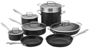 Cuisinart Dishwasher Safe Hard-Anodized Cookware Set