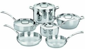 Cuisinart FCT-10 - best induction cookware sets