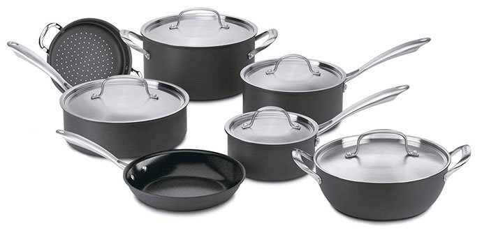 Cuisinart's Green Gourmet Cookware - best eco friendly cookware set