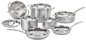 Cuisinart MCP-12N - best stainless steel cookware for glass top stoves