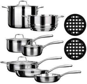 induction cookware brands - Duxtop SSC-14PC