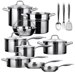 Best Stainless Steel Cookware - Duxtop SSIB-17