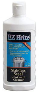 EZ Brite Stainless Steel & Chrome Cleaner