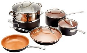 Gotham Steel 10-Piece Kitchen Set With Non-Stick Ti-Cerama Coating