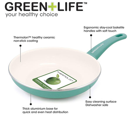 are greenlife pans safe? 100% healthy and safe