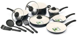 GreenLife SoftGrip 14pc Ceramic Cookware Set Review