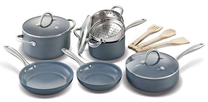 GreenPan Lima 12pc Ceramic Non-Stick Cookware Set Review