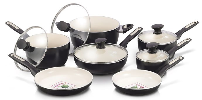 GreenPan Rio 12pc Ceramic Non-Stick Cookware Set Review 2018