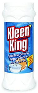 Kleen King Stainless Steel & Copper Cookware Cleaner