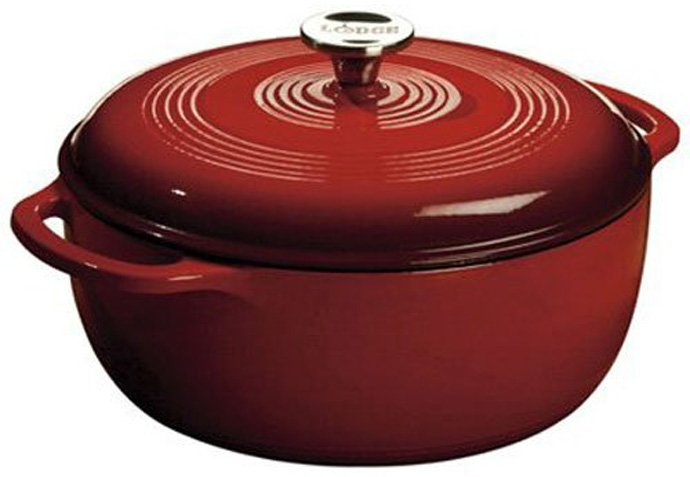 Lodge Color EC6D43 Enameled Cast Iron Dutch Oven, 6 Quart: Review
