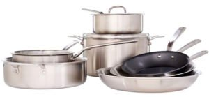 Best Gas Stove Cookware - Made In Cookware Stainless Steel Cookware Set