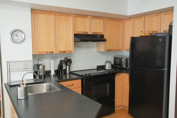 Microwave Oven in the Below Worktop