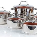 Nuwave Duralon™ Ceramic Non-stick Cookware 10-Piece Set
