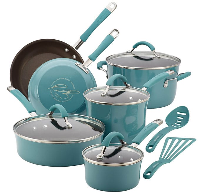 Rachael Ray 12 piece cookware set Review