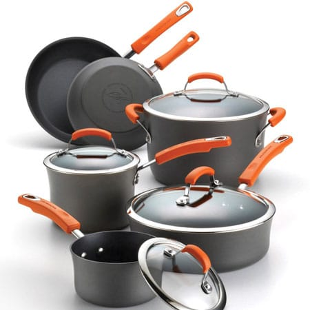 Rachael Ray Hard Anodized Cookware Set