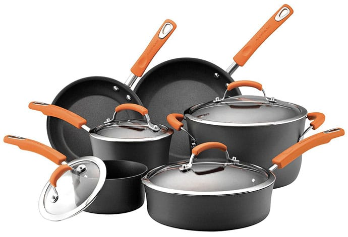 Rachael Ray Hard Anodized II Nonstick Dishwasher Safe Cookware Set Review