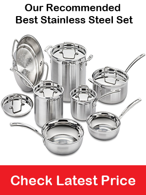 Recommended Stainless Steel Cookware Set