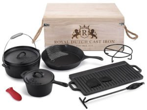 Royal Dutch Cast Iron 1815 - Best Cast Iron Grill Pan