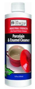 Siege Chemical 766L Porcelain and Enamel Cleaner