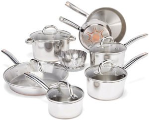 T-fal C836SD - Stainless Steel Cookware Made in USA