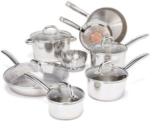 T-fal C836SD - Best Copper Bottom Cookware
