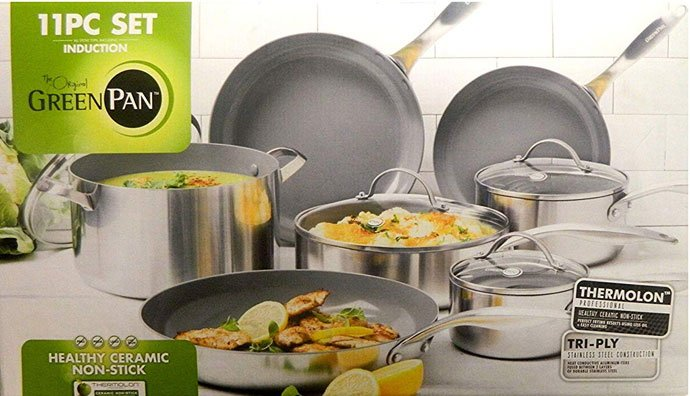 Original Green Pans Cookware Set