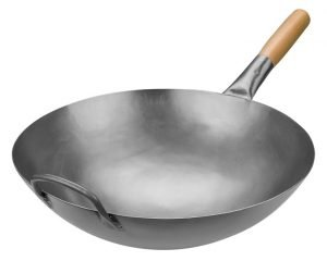 Timoney Carbon Steel Pow Wok - uncoated carbon steel wok
