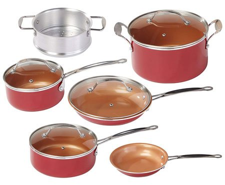 red copper square pan reviews